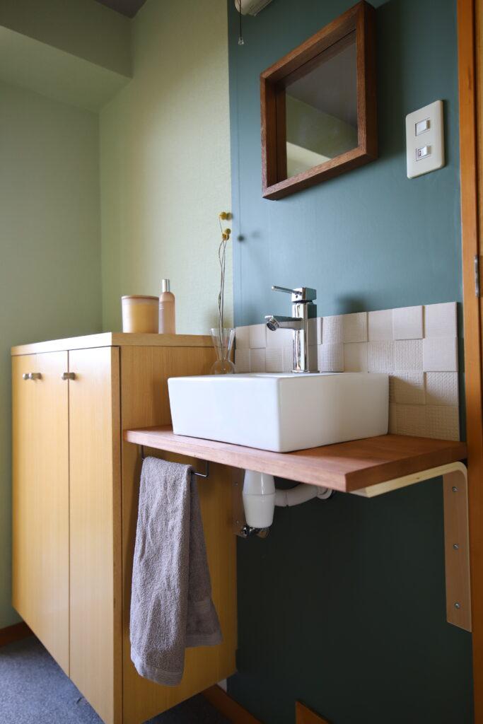 知多郡・賃貸マンション.玄関に手洗い